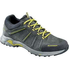 Mammut Convey Low GTX Shoes Herre graphite-dark citron